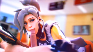 Overwatch compilation 3D hentai