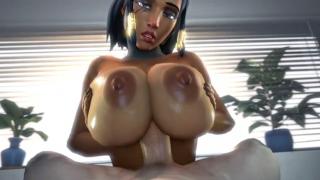 Pharah 3D porn overwatch